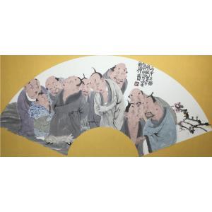 彭航国画作品《【人物7】作者彭航》价格2880.00元