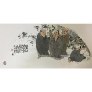 彭航国画作品《【人物8】作者彭航》价格2880.00元