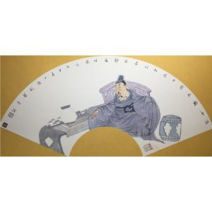 彭航国画作品《【人物9】作者彭航》价格2880.00元
