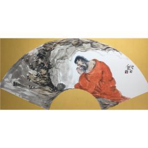 彭航国画作品《【人物10】作者彭航》价格2880.00元