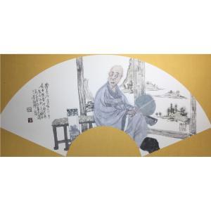 彭航国画作品《【人物12】作者彭航》价格2880.00元