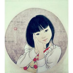 刘晓宁国画作品《【工笔人物私人订制】作者刘晓宁》价格1176.00元
