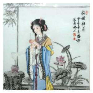 王福秋国画作品《【貂蝉拜月】作者王福秋》价格19200.00元