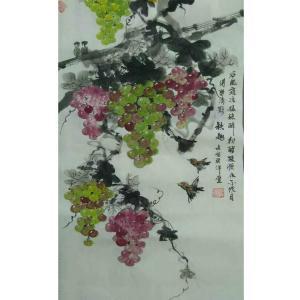 张洋国画作品《【秋趣】作者张洋》价格2400.00元
