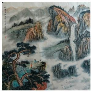 墨丹国画作品《【仙境萦绕】作者墨丹》价格480.00元