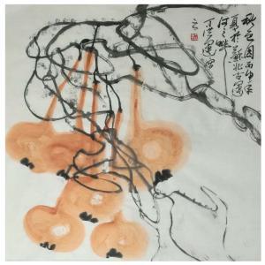 丁洪运国画作品《【秋色园梦】作者丁洪运》价格720.00元
