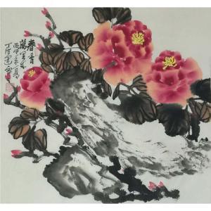 丁洪运国画作品《【春香万里情】作者丁洪运》价格720.00元