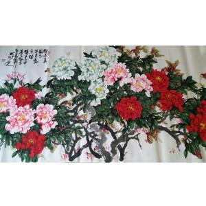 李朝国国画作品《【花开富贵5】作者李朝国》价格7200.00元