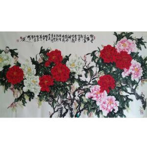 李朝国国画作品《【花开富贵6】作者李朝国》价格7200.00元