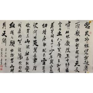 肖雪毅书法作品《【怒发冲...】作者肖雪毅》价格1200.00元