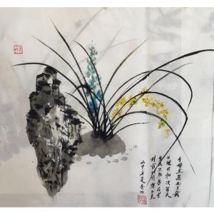 肖雪毅国画作品《【花草】作者肖雪毅》价格1200.00元