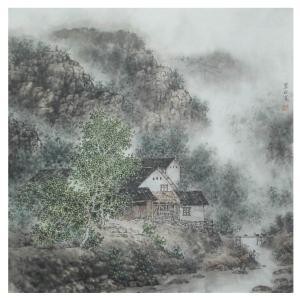 杨景林国画作品《【山水2】作者杨景林》价格1440.00元