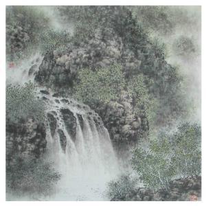 杨景林国画作品《【山水3】作者杨景林》价格1440.00元