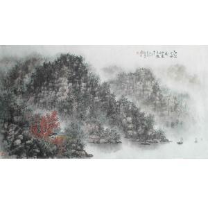 杨景林国画作品《【山水4】作者杨景林》价格3840.00元