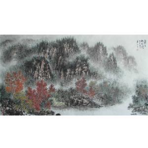 杨景林国画作品《【山水5】作者杨景林》价格2000.00元