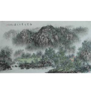 杨景林国画作品《【山水7】作者杨景林》价格3840.00元