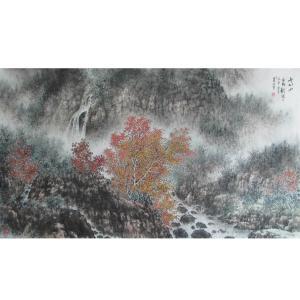杨景林国画作品《【山水8】作者杨景林》价格3840.00元
