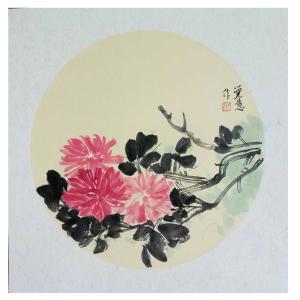 张大石国画作品《【 花 】作者张大石》价格480.00元