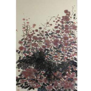 丁月光国画作品《【花海】作者丁月光》价格12000.00元