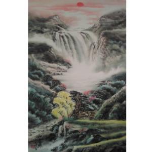黄一龙国画作品《【山水】作者黄一龙》价格626.00元