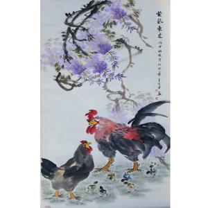 王世军国画作品《【紫气东来2】作者王世军》价格38400.00元