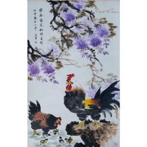 王世军国画作品《【紫气东来3】作者王世军》价格38400.00元