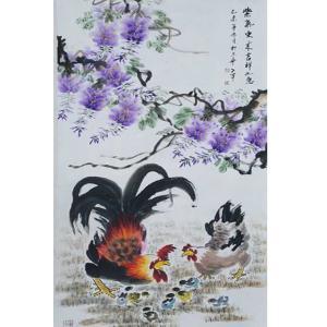 王世军国画作品《【紫气东来4】作者王世军》价格38400.00元