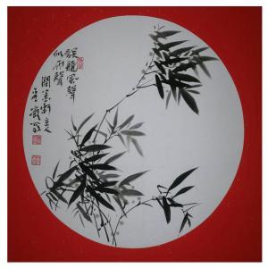 杨金岗国画作品《【竹叶】作者杨金岗》价格480.00元
