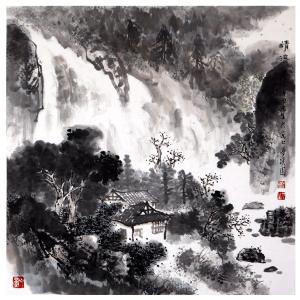 蒋元生国画作品《【山水7】作者蒋元生》价格2400.00元