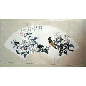 伍三平国画作品《【花鸟5】作者伍三平》价格960.00元