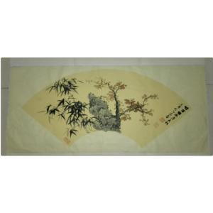 伍三平国画作品《【山水1】作者伍三平》价格960.00元