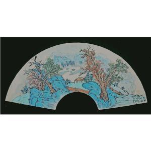 伍三平国画作品《【山水3】作者伍三平》价格960.00元