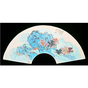 伍三平国画作品《【山水5】作者伍三平》价格960.00元