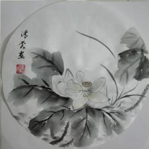 池清云国画作品《【荷花6】作者池清云》价格960.00元