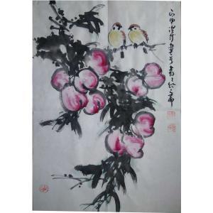 于洪成国画作品《【花鸟3】作者于洪成》价格200.00元
