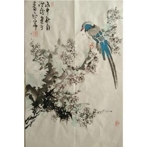 于洪成国画作品《【花鸟4】作者于洪成》价格200.00元