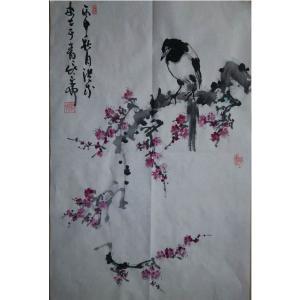 于洪成国画作品《【花鸟6】作者于洪成》价格200.00元