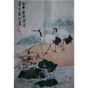 于洪成国画作品《【花鸟7】作者于洪成》价格200.00元