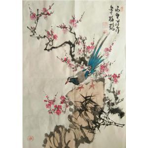 于洪成国画作品《【花鸟9】作者于洪成》价格200.00元