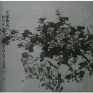 张文健国画作品《【梅兰菊竹系列1】作者张文健》价格1920.00元