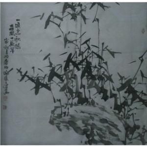 张文健国画作品《【梅兰菊竹系列2】作者张文健》价格1920.00元