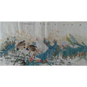 尹晓军国画作品《【秋风和照香满园】作者尹晓军》价格7440.00元