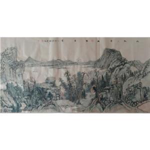 尹晓军国画作品《【山水画】作者尹晓军》价格7680.00元