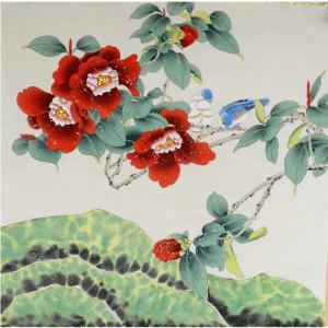 刘恒胜国画作品《【花鸟6】作者刘恒胜》价格200.00元