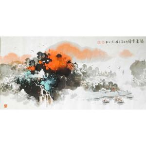 徐国人国画作品《【鸿运当头】作者徐国人》价格14400.00元