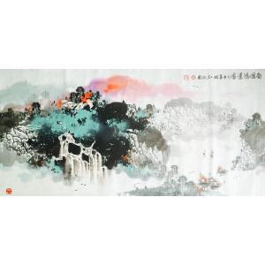 徐国人国画作品《【南国鸿运图】作者徐国人》价格14400.00元