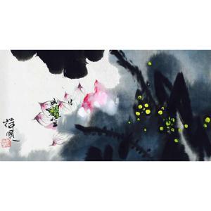 徐国人国画作品《【花3】作者徐国人》价格14400.00元