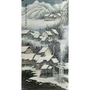 易剑赋国画作品《【暗雪】作者易剑赋》价格2400.00元