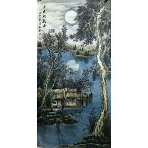 易剑赋国画作品《【月光幻想曲】作者易剑赋》价格2880.00元