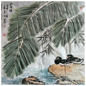 马青山国画作品《【江南情】作者马青山》价格1440.00元